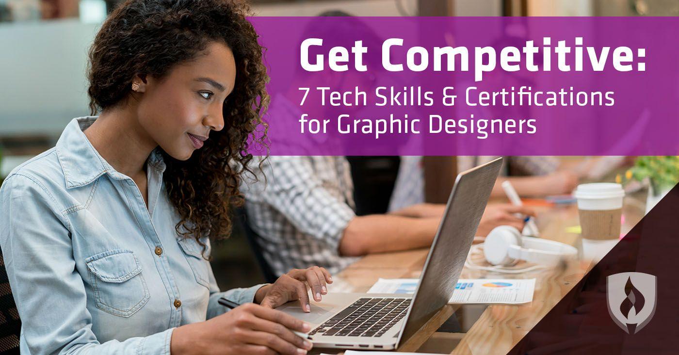 Graphic designers reveal 7 tech skills u0026