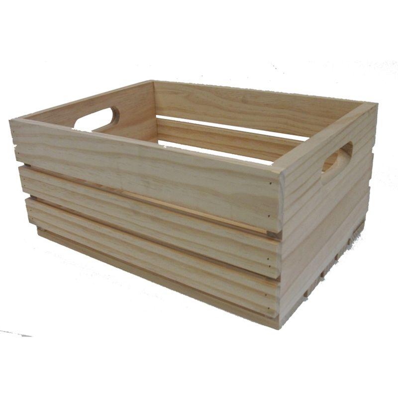 craft timber piece boyle large fruit crate 611314 bunnings rh pinterest com