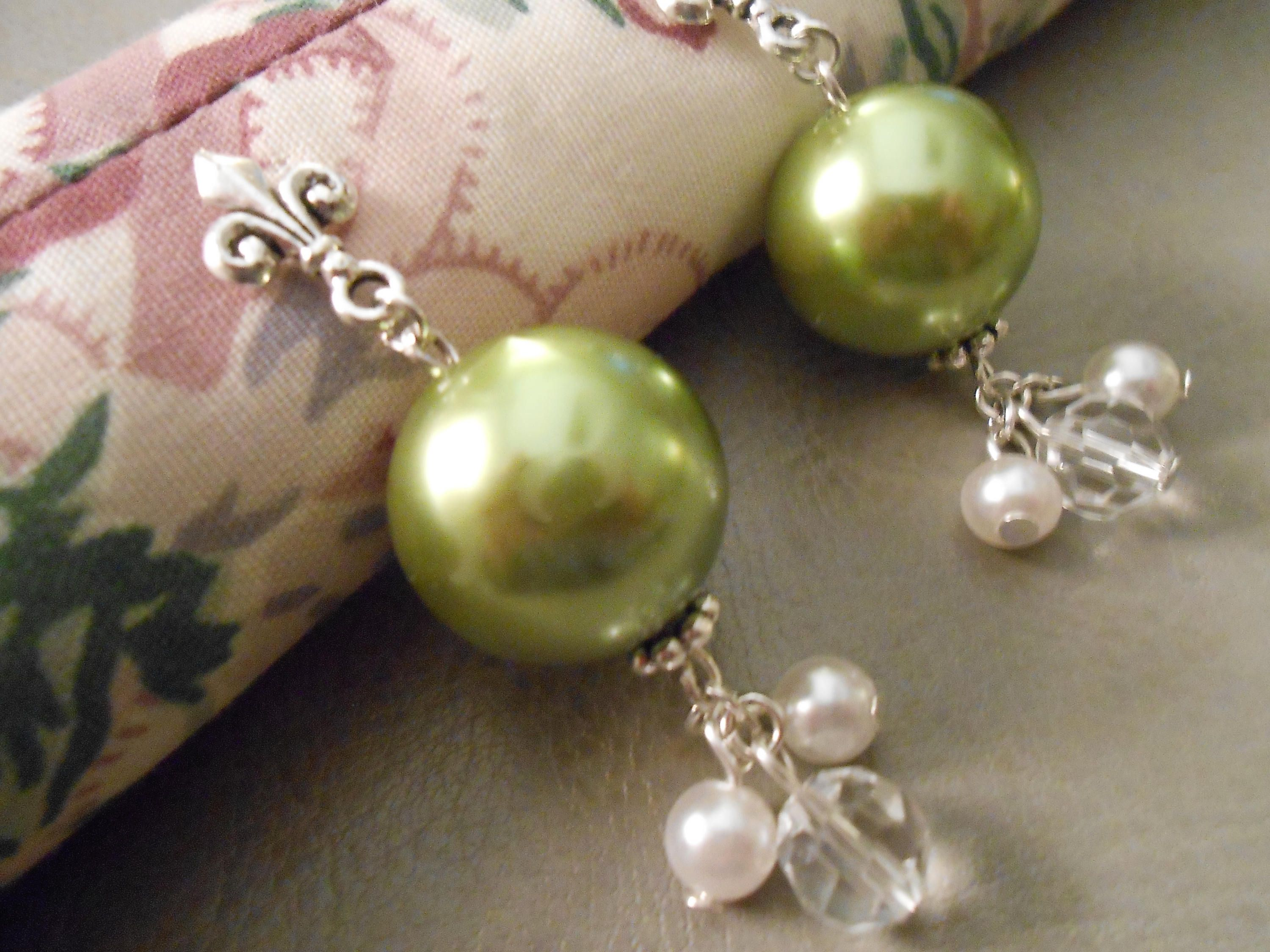 olive pearls bracelet web cropped jo designer as colorful accents green product
