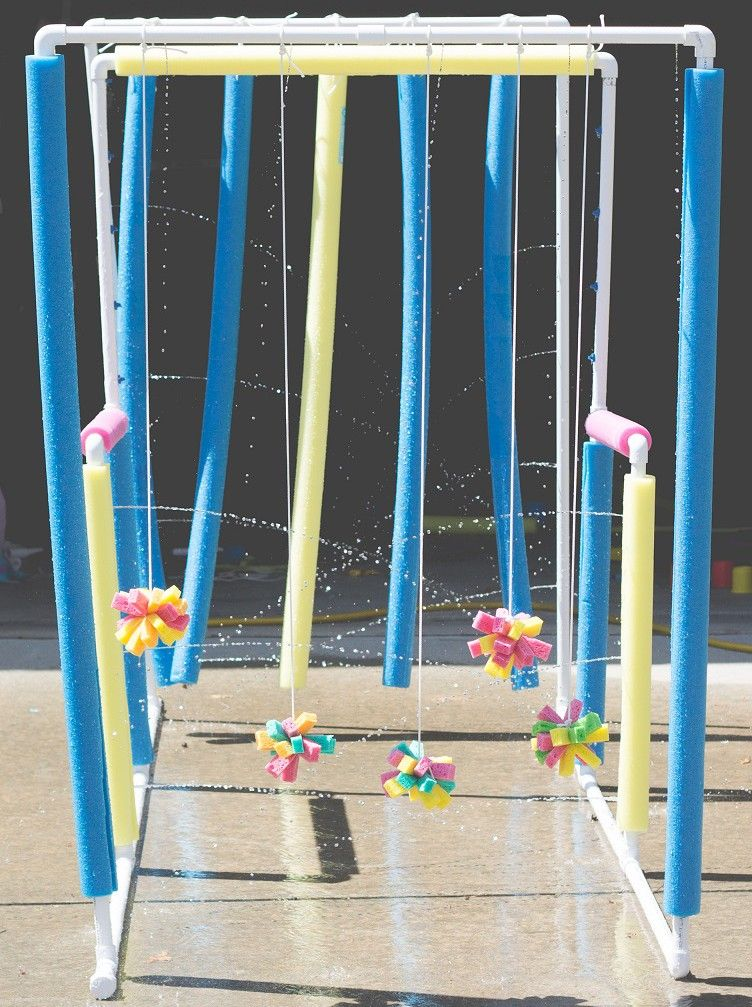 Car Wash Water Station For Kids Field Day Activity Physical