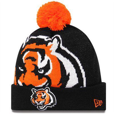 New Era Cincinnati Bengals Woven Biggie Cuffed Ski Hat - Black ... 816367307