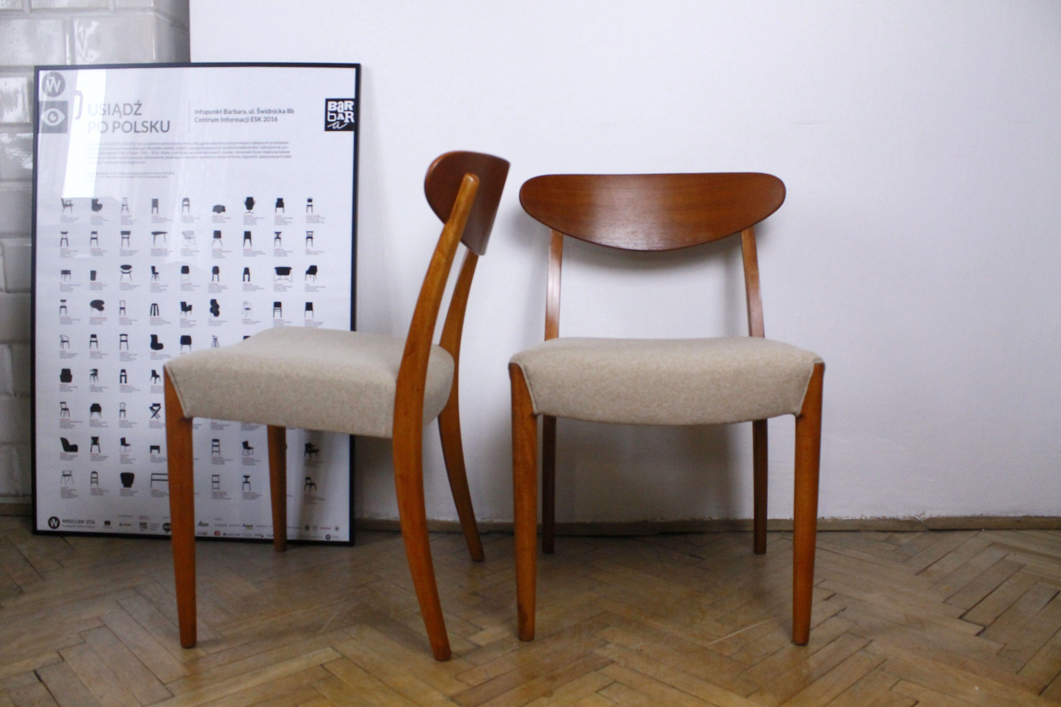 2 Krzesla Lata 50 Mid Century Modern Design Wyjatkowe Mid Century Modern Design Modern Design Mid Century Modern