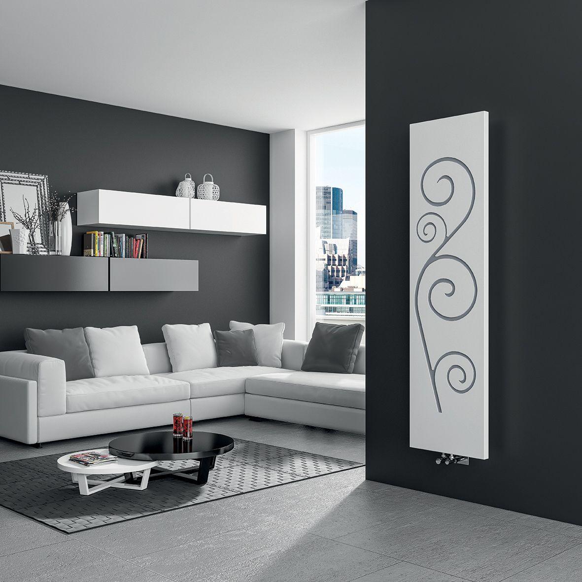 Termoarredo idraulico dal design moderno con cover for Mobili colorati design