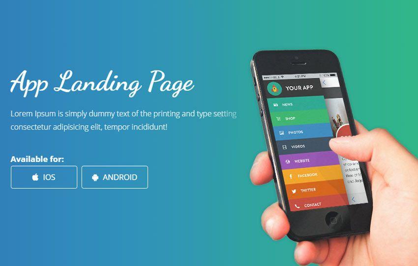 Smartnet Free Mobile App Landing Page Bootstrap Website 56