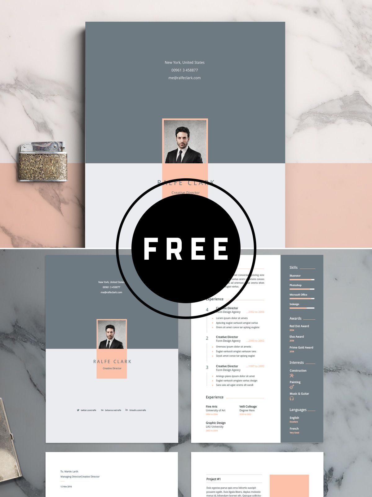 98 Awesome Free Resume Templates for 2019 Simple resume