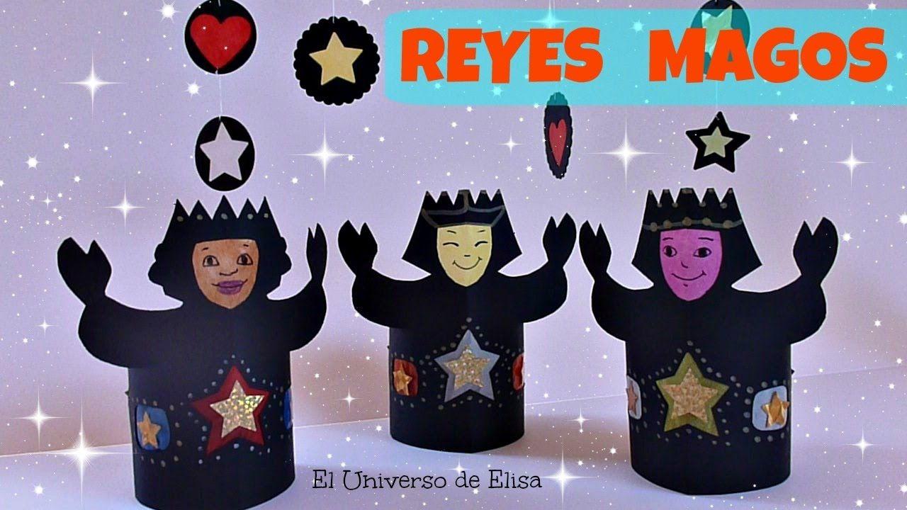 Manualiddades para Navidad, Cómo hacer Reyes Magos para Portal de Belén ...