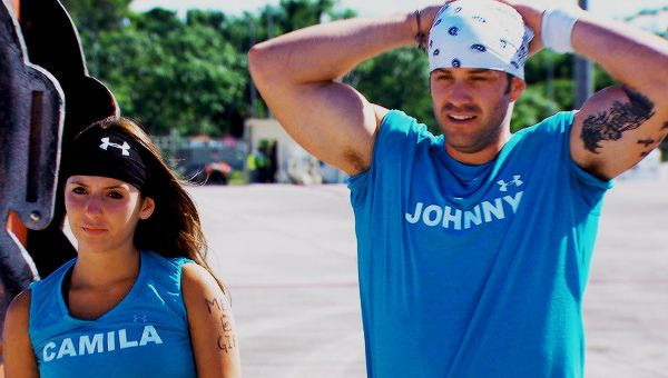 Battle Of The Exes Johnny And Camila Mtv S Challenge