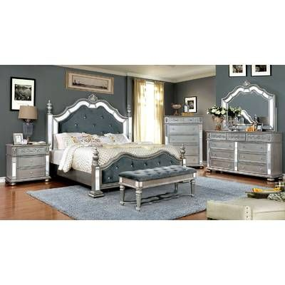 karlee panel configurable bedroom set in 2019 bedroom headboard rh pinterest com