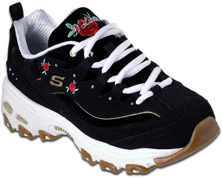 Skechers D'Lites Rose Blooms Women's Sneakers | Skechers