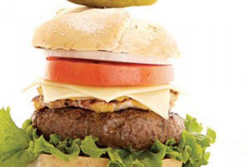 Raclette Burger   Emmi Roth USA