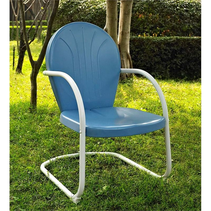 griffith retro metal lawn chair metal furniture backyard metal rh pinterest com