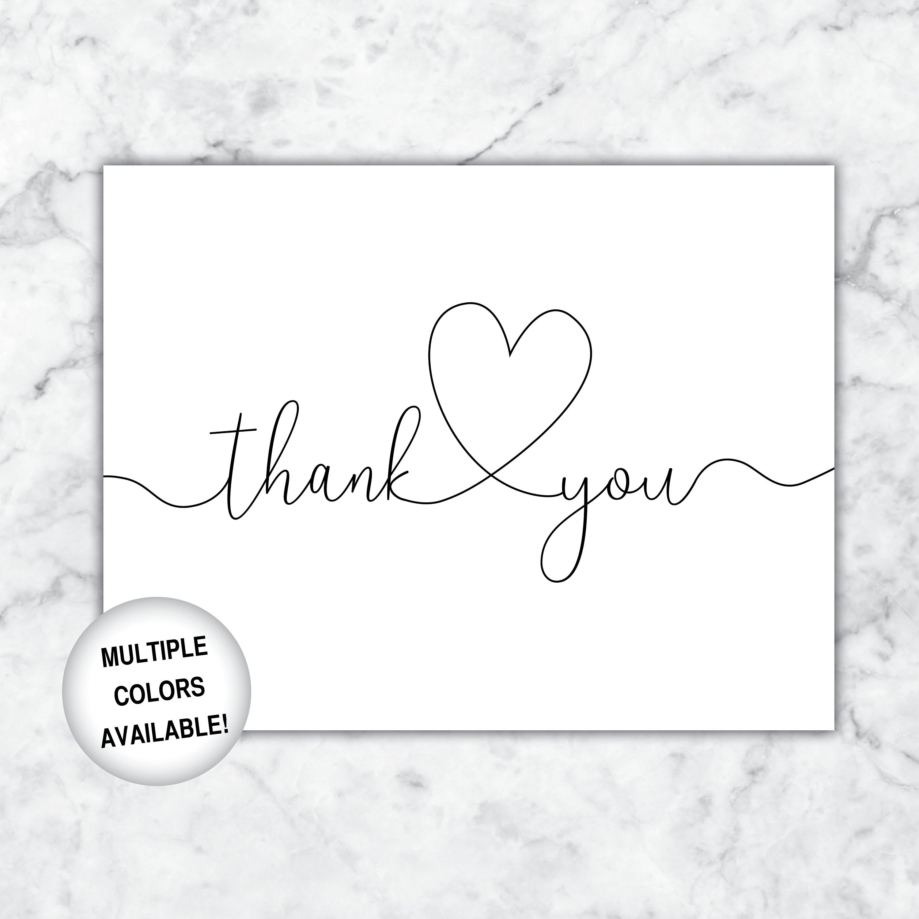 photo regarding Printable Thank You Cards Black and White named Pin upon Thank By yourself Playing cards