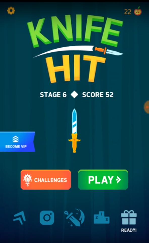 تحميل لعبة نايف هيت Knife Hit 2019 للكمبيوتر والجوال مجانا Challenges