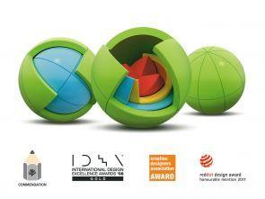 Oblo spheres - 3D puzzle