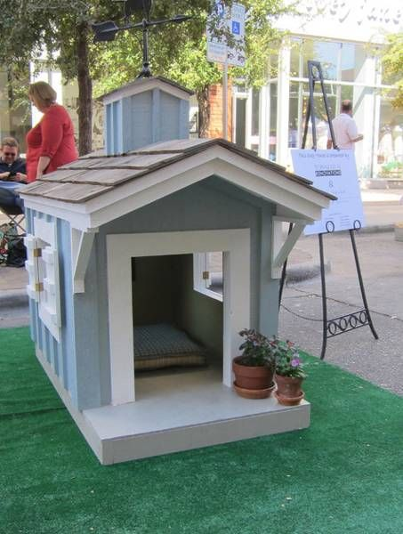 30 Dog House Decoration Ideas Bright Accents For Backyard Designs Dog House Diy Dog Houses Cool Dog Houses