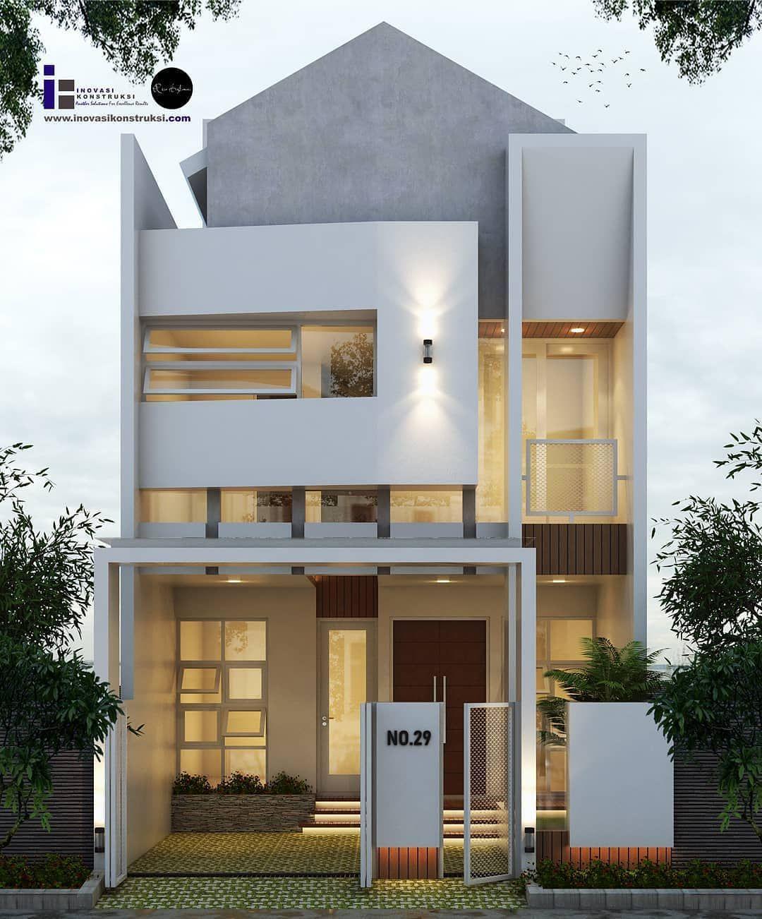 13 Model Rumah Minimalis Terbaru 2020 Lengkap Dekor Rumah Rumah Minimalis Home Fashion Rumah Industri