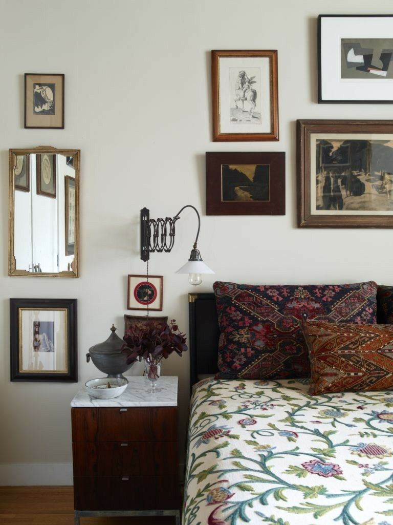 night stand in my room downtown lofts home decor bedroom prints rh pinterest com