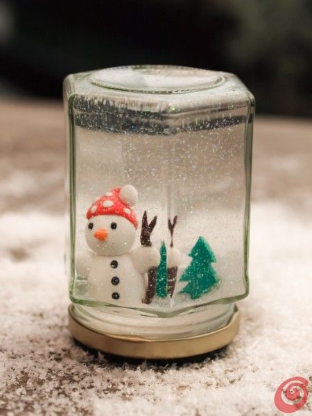 Top Le palle di neve, il fai da te per i regali di Natale | Natale  ZP77