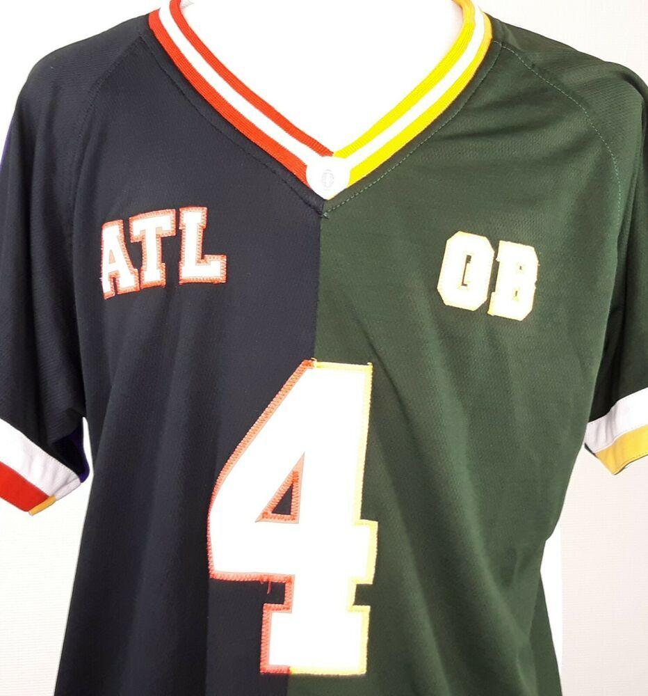 Moxie 4 Pack Football Jersey Size Med Atl Gb Ny Mn Falcons Packers Jets Vikings Moxiejer In 2020 Atlanta Falcons Jersey Nfl Football Jersey Minnesota Vikings Football