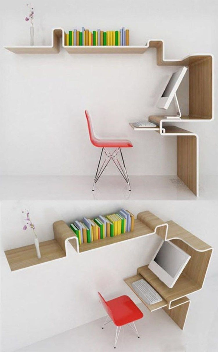 30+ Fabulous Modern Desk Ideas For Functional And Enjoyable Office   Simple  Studios