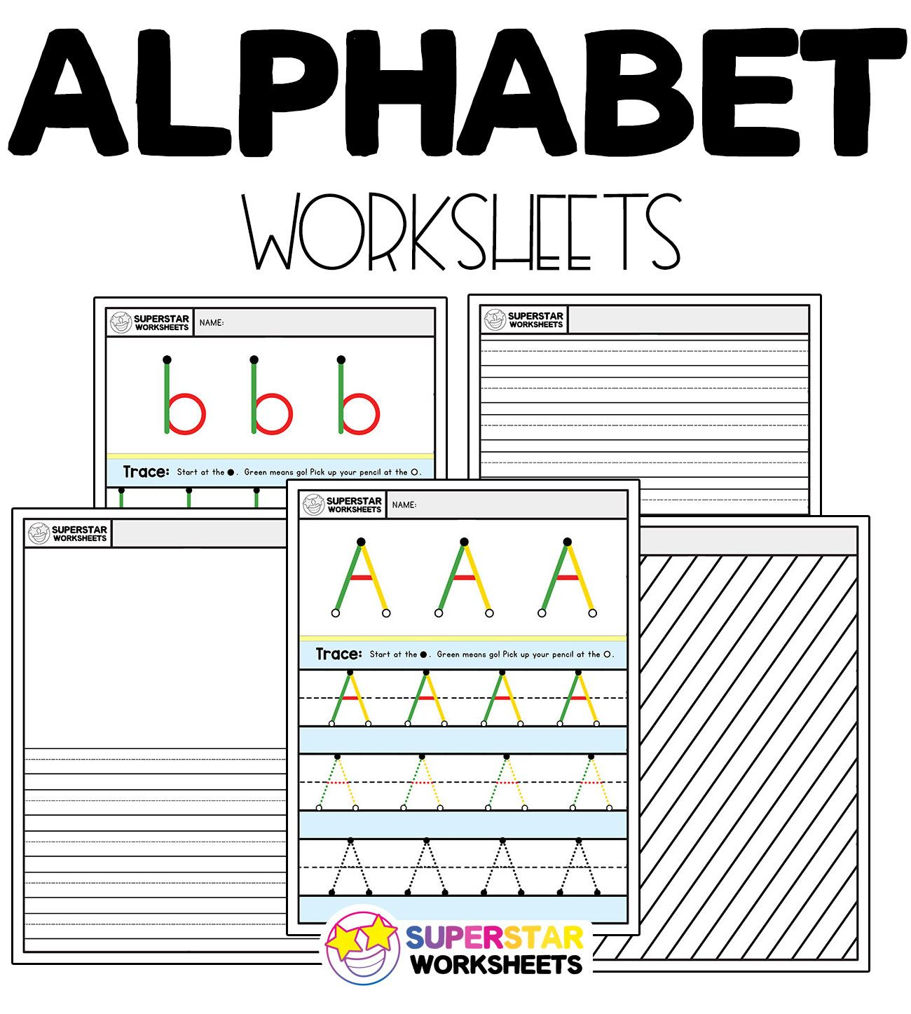 Alphabet Writing Worksheets In