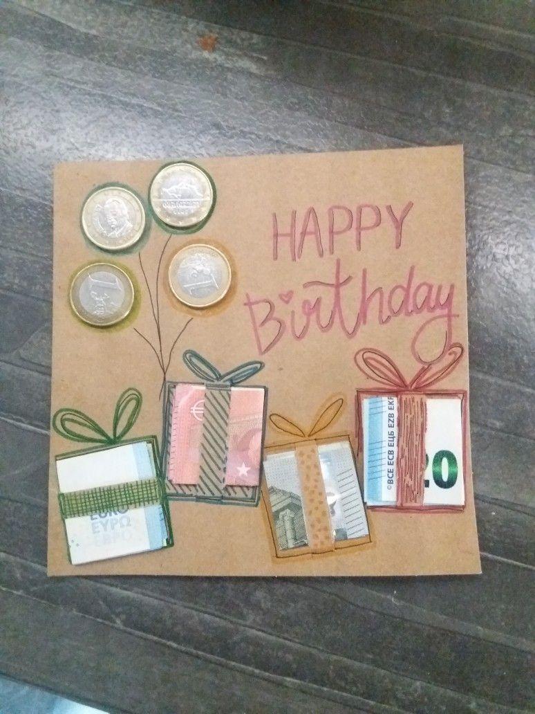 Geb Karten Geschenke Geburtstag Selber Machen Geschenkideen