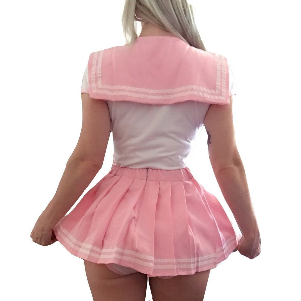 8e1fae70f3 Littleforbig Adult Baby Onesie Diaper Lover ABDL Snap Crotch Romper Onesie  Pajamas – Cosplay Magical Girls Onesie Skirt Set -- Learn more by  visiting the ...