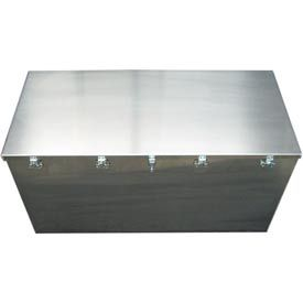 Aluminum Case 1448 Aluminum Big Box Storage Transit Container 48 X 22 X 24 Storage Bins Storage Storage Boxes