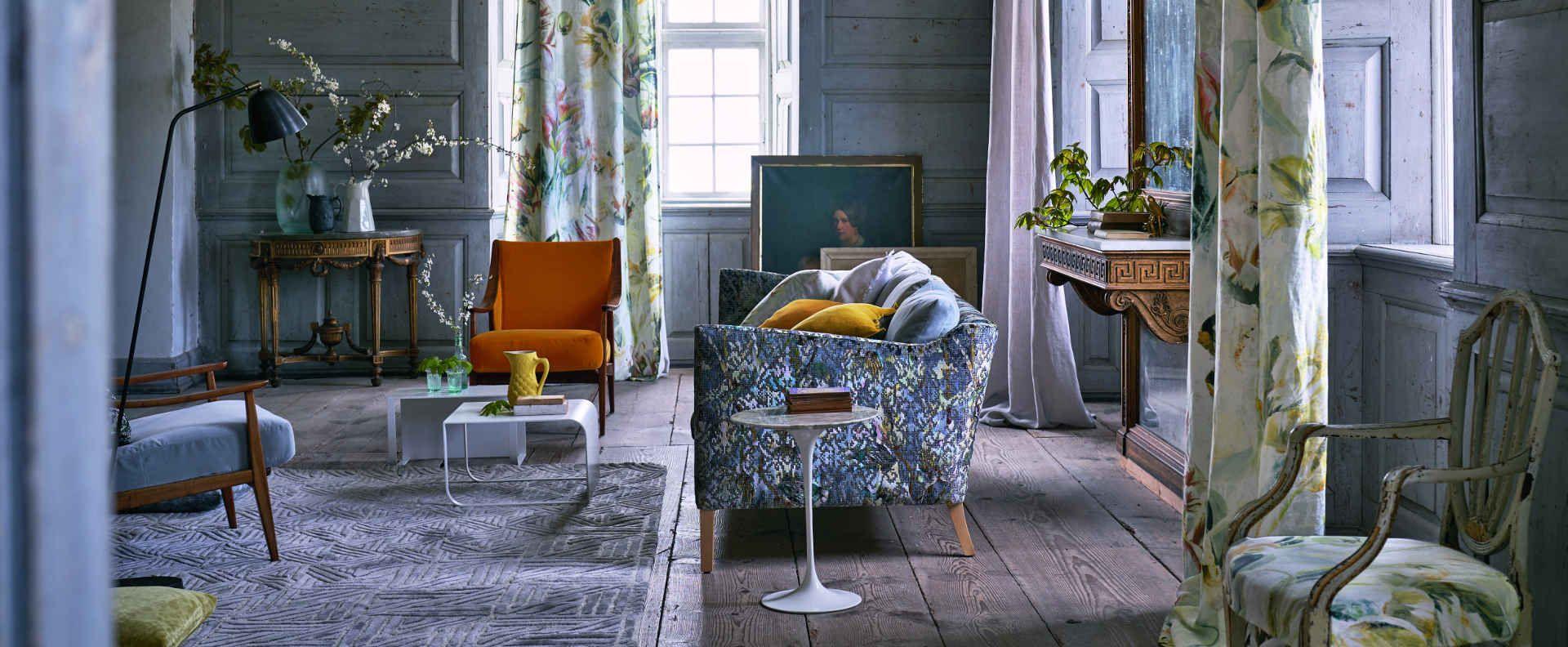 Tkaniny Fotele Firany Zasłony Kanapy Dekoracja Wnętrz