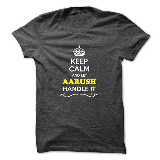 Buy Keep Calm And Aarush Tshirt Thing