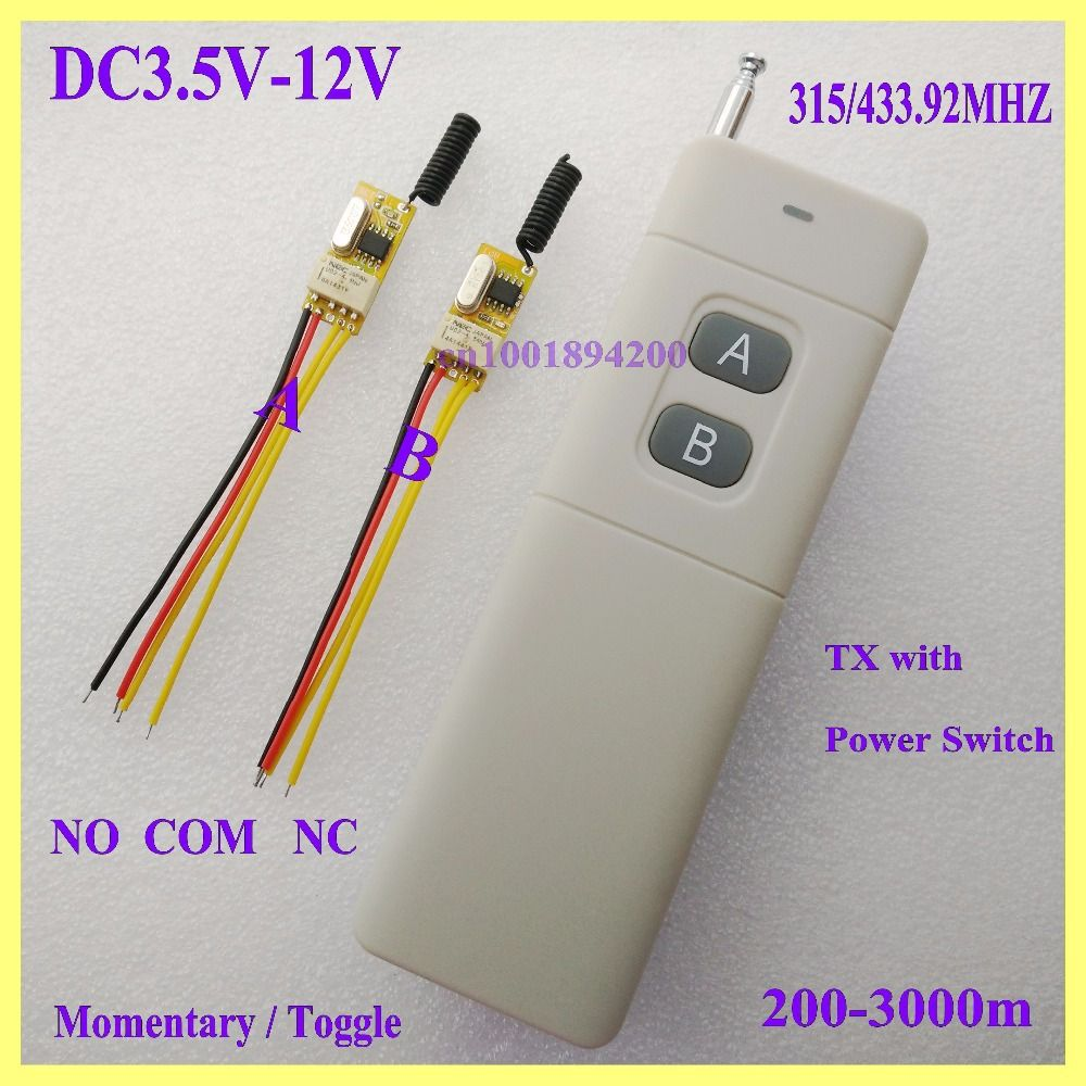 3 7v 5v 6v 7 4v 9v 12v Micro Remote Switch Door Openner Wireless Switch Button Remote Control Switch Rc Remote On Off With Images Wireless Switch Remote Control Rc Remote