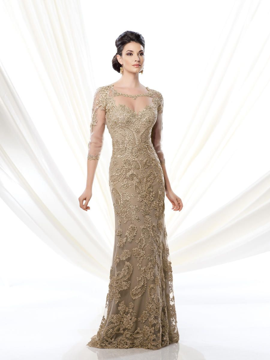 Ivonne d d mother of the bride lace dress in mercedes