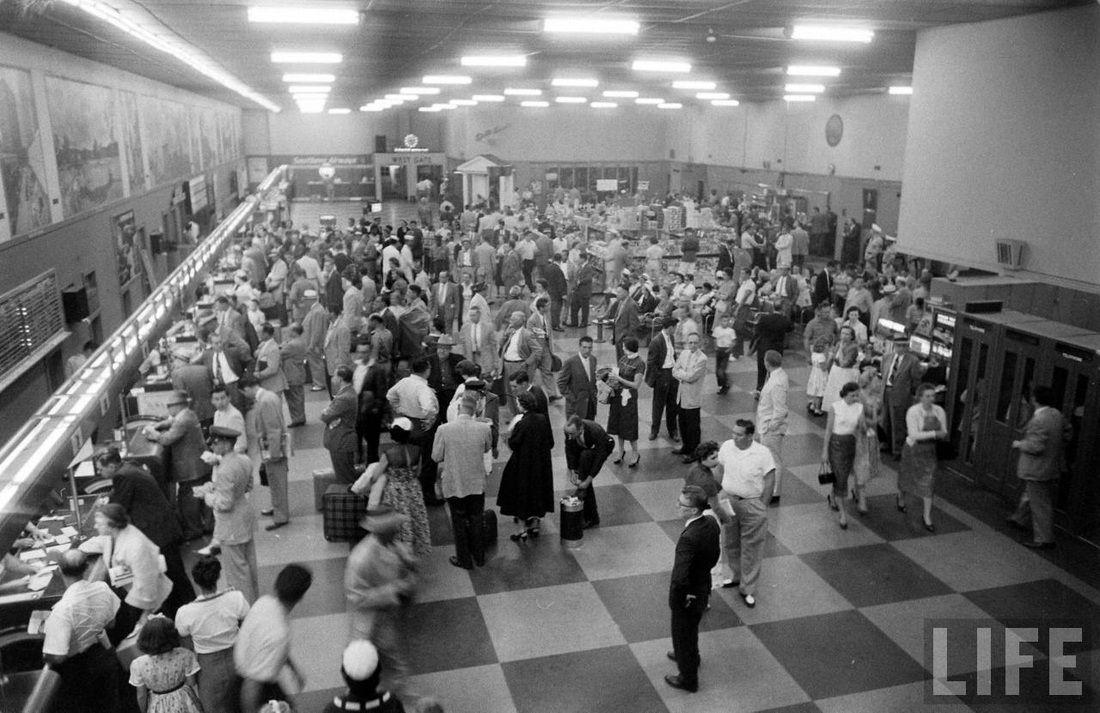 25 Amazing photos of Atlanta Airport in 1956 Atlanta