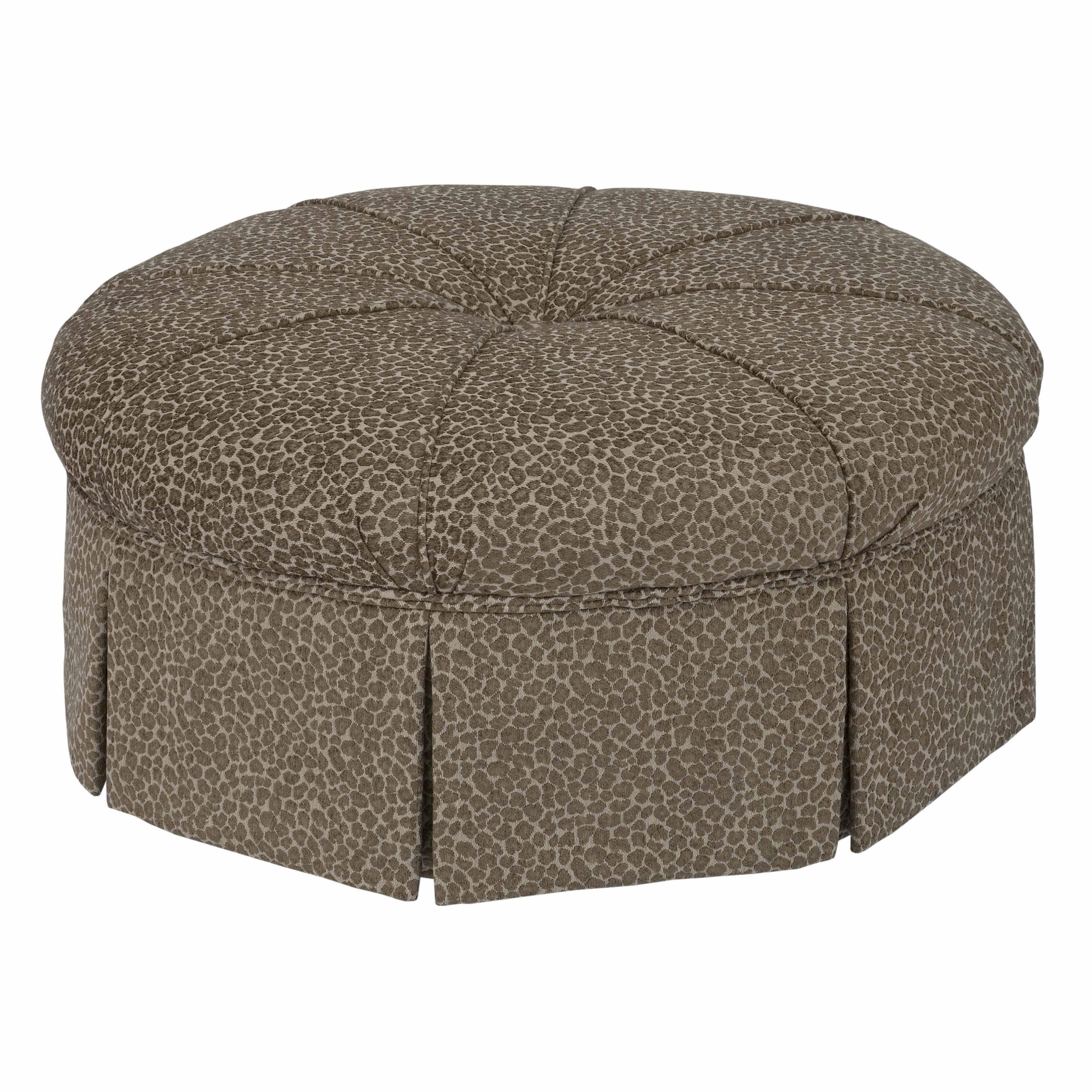Best Accent Chairs Round Ottoman By Kincaid Furniture Kincaid 400 x 300
