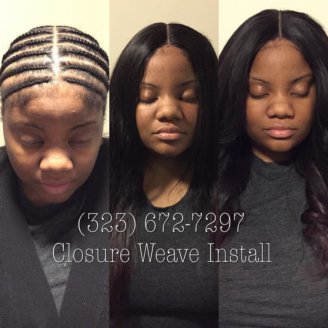 I Always Offer Sleek Flat Professional Hair Weaves And Custom Unit