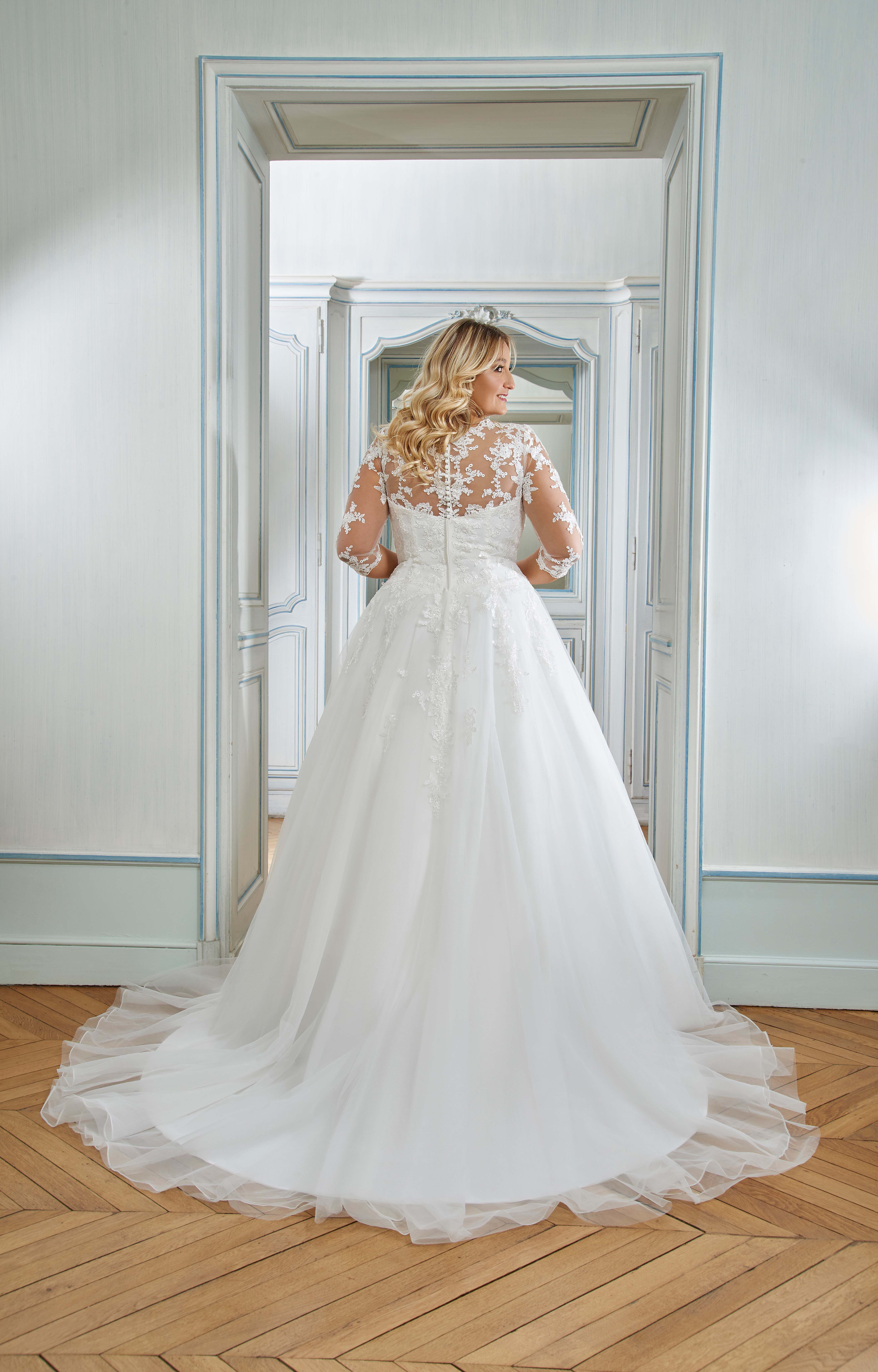 curvy brautmode - the sposa group - audrey outlet köln in