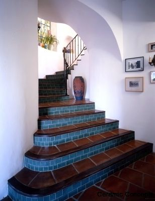 stairs ceramic risers - Google Search