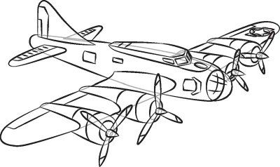 How to Draw World War II Planes in 7 Steps | Crafts, How to draw ...