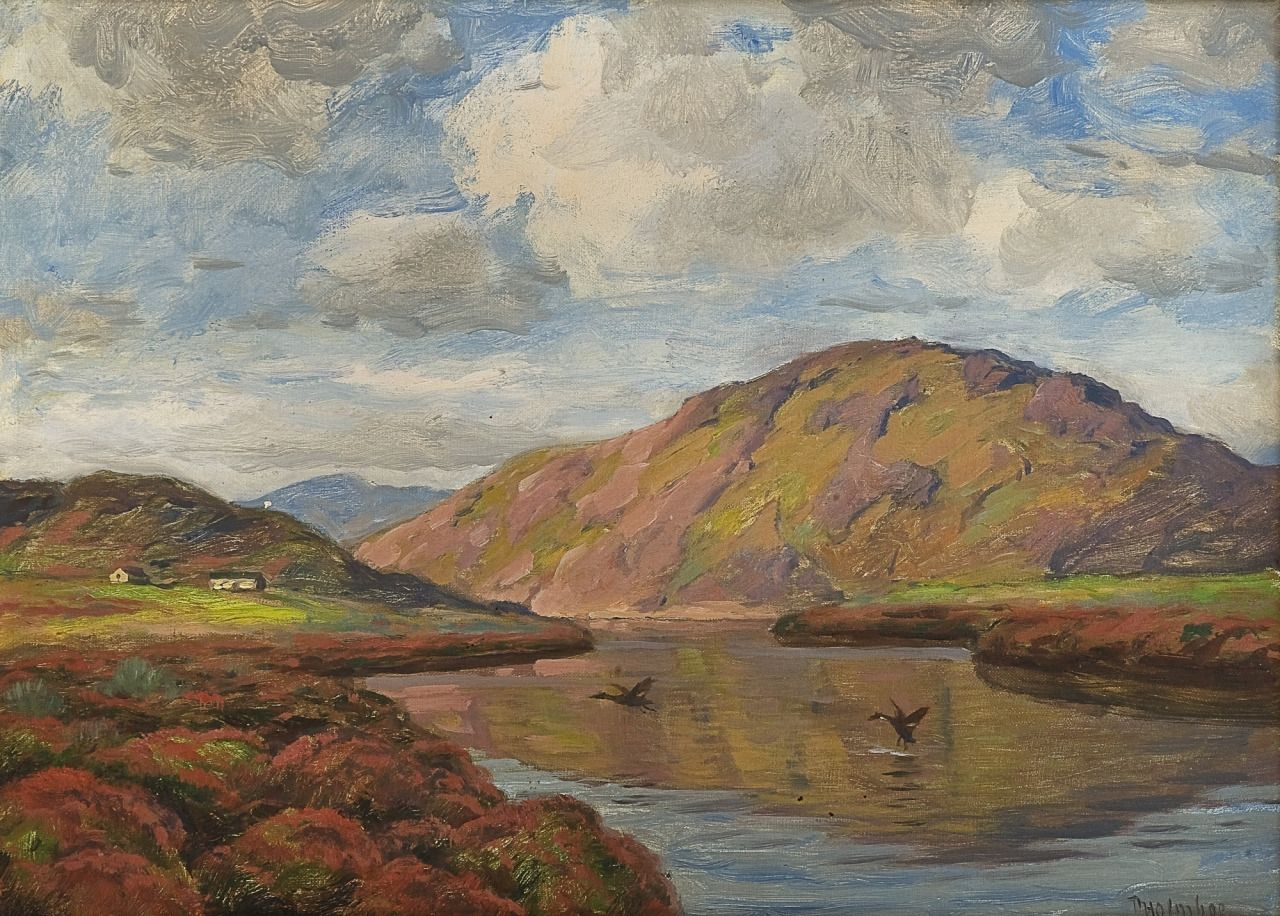 På høyfjellet, Thorolf Holmboe