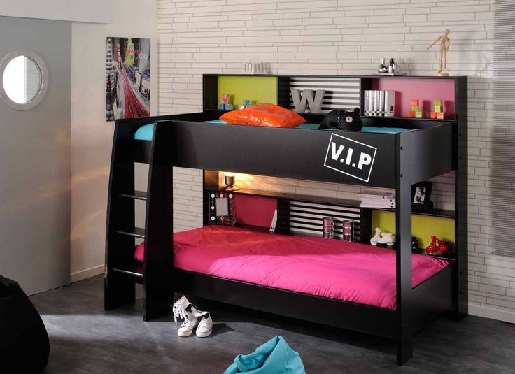 lovely bedroom concept with bunk bed Bedroom Pinterest Bunk