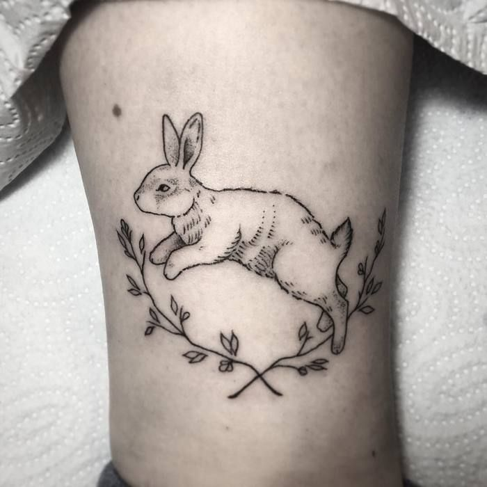 40 Entzuckende Kaninchen Tattoo Design Ideen Kleine Tattoo Ideen Tattoo Ideen Klein Tattoo Designs