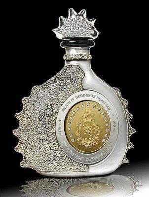Billionaire Club / karen cox. The Glamorous Life.  $2,000,000.00 World's Most Expensive Cognac Henri IV Dudognon