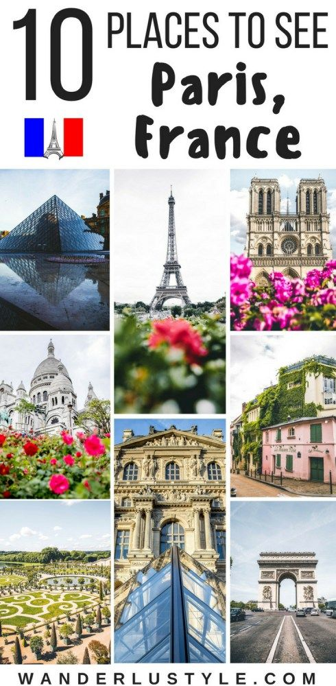 10 places to see for the first time in paris france travel france