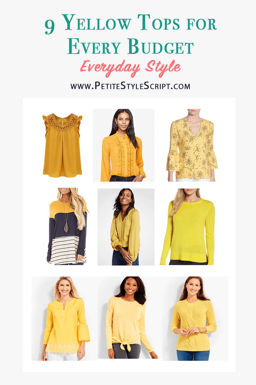 093f3d36cf7 How to Wear Navy   Mustard Yellow Together + 9 Affordable Tops ...