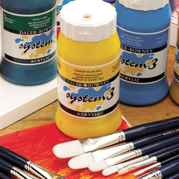 Daler-Rowney System 3 Original Acrylics are the ideal combination of