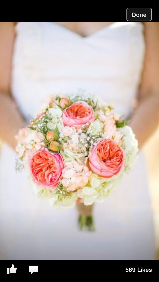 Pink And Coral Bouquet Ranch Wedding Bridal Bouquet Ranunculus Wedding