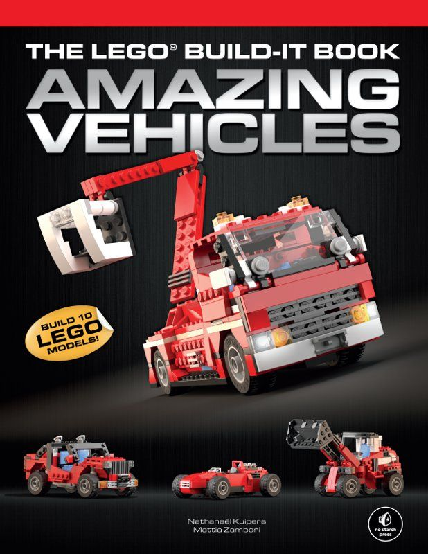The LEGO Amazing Vehicles book walks you through building 10, well, amazing vehicles! Great book for someone looking to increase their building skills.  From A LEGO A Day