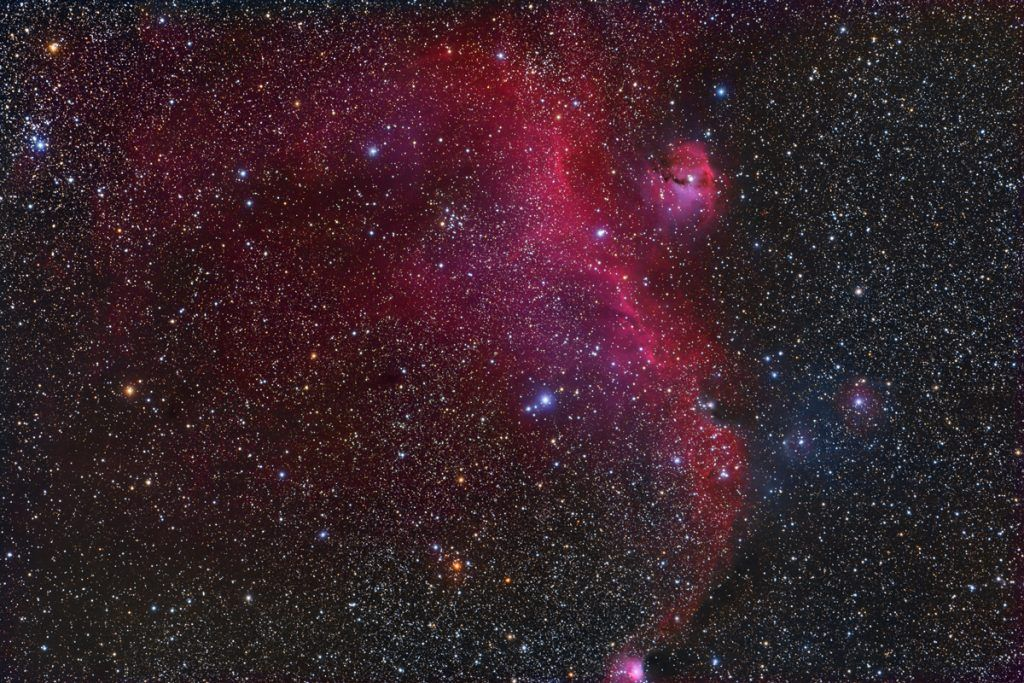 8 February 2017   The Seagull Nebula