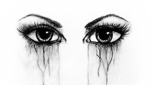 Ojos Llorando Dibujo