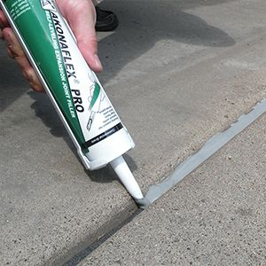 Akonaflex Pro Self Leveling Expansion Joint Filler Tcc Materials Repair Cracked Concrete Fix Cracked Concrete Repair Concrete Driveway